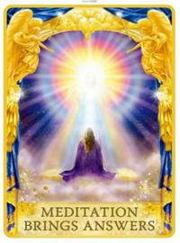 MEDITATION BRINGS ANSWER