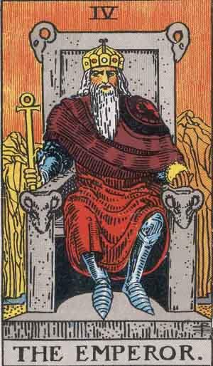 大アルカナ:皇帝